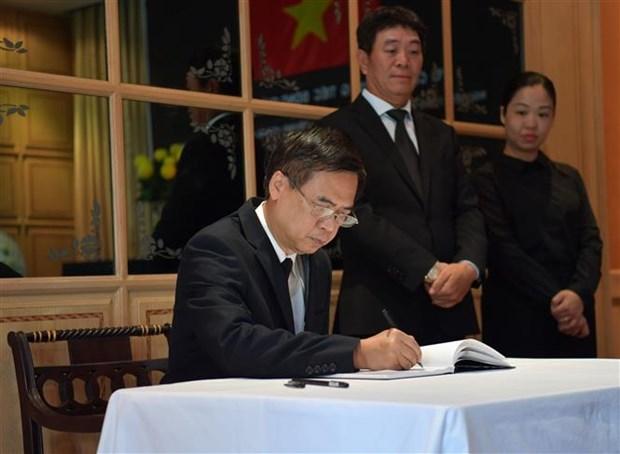 原越共中央总书记黎可漂的吊唁仪式在泰国、印尼、缅甸、瑞士和希腊举行 hinh anh 2
