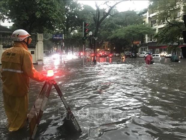 越南北部山区各省市遭特大暴雨洪水袭击 hinh anh 3