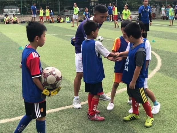 欧洲足球俱乐部联盟在越南开展在线培训计划 hinh anh 1