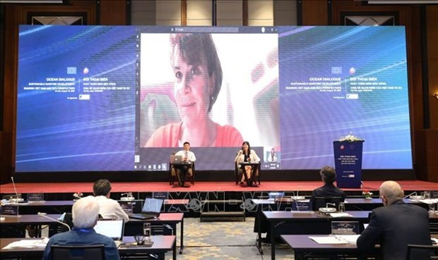 越南与欧盟促进海洋经济合作 hinh anh 1