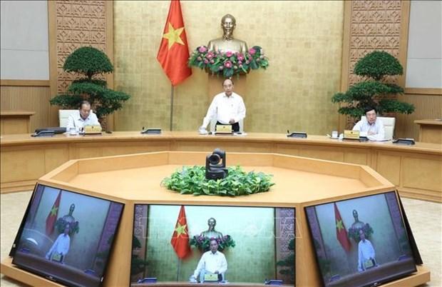 政府常务委员会就未来阶段机构及社会发展计划草案进行讨论 hinh anh 1