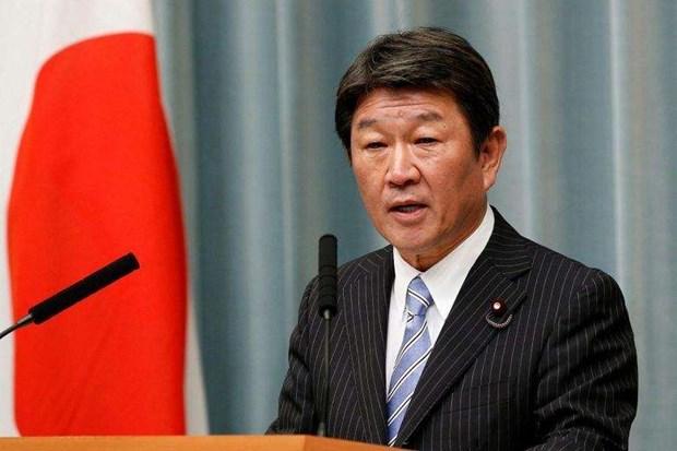 日本外务大臣对多国进行访问 hinh anh 1