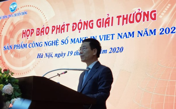 """2020年""""越南制造"""" 数字科技产品奖开启 hinh anh 2"""