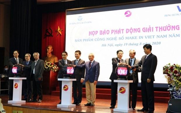 """2020年""""越南制造"""" 数字科技产品奖开启 hinh anh 1"""