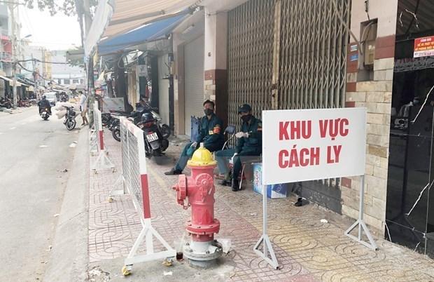 新冠肺炎疫情:胡志明市出现一例复阳病例 hinh anh 1