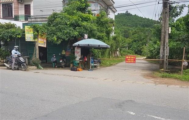 富寿省对清波县的凯春和武劳两乡实施社交距离措施 hinh anh 2