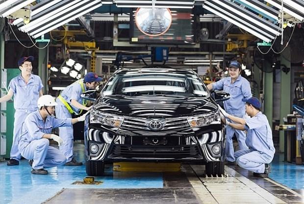 越南国内汽车制造和组装企业被准许延期缴纳特别消费税 hinh anh 1