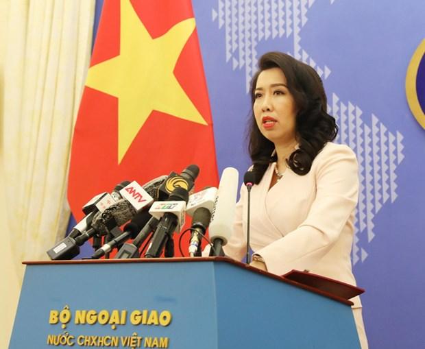 外交部发言人黎氏秋姮:越南呼呼各方为维护东海和平、稳定和安全负起责任 hinh anh 1