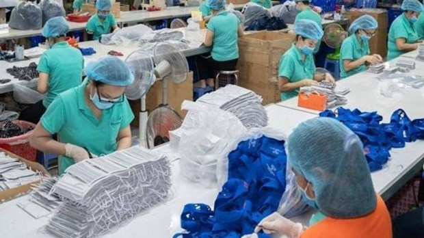 2020年前7月越南医用口罩出口超过7亿 hinh anh 1