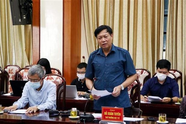 越南卫生部副部长:海阳省的疫情基本得到控制 hinh anh 2
