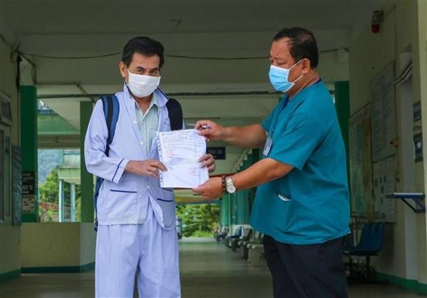 8月22日上午越南无新增新冠肺炎确诊病例 累计治愈病例547例 hinh anh 1