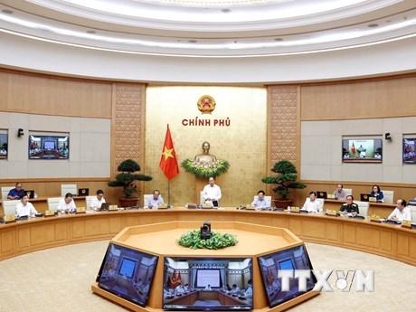 越南政府:决不让经济社会发展活动中断 hinh anh 1
