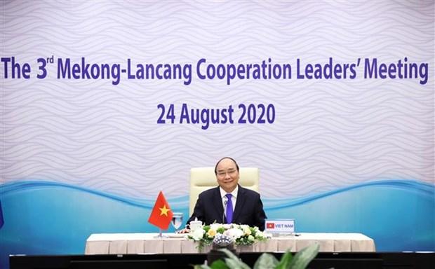 越南积极促进湄澜合作 hinh anh 2