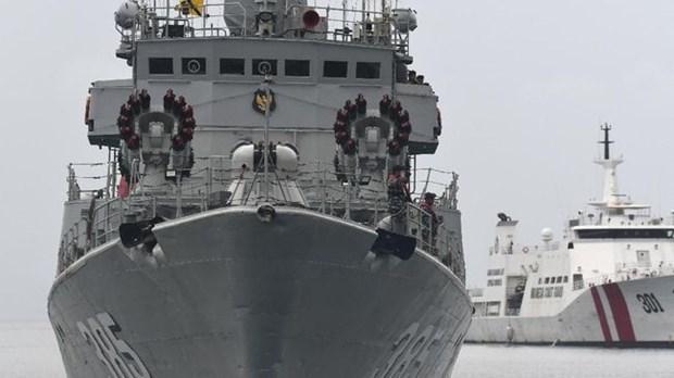 印尼两艘国产军舰下水 hinh anh 1