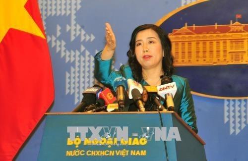 中国连续在黄沙群岛开展的军演活动侵犯了越南的主权 hinh anh 1