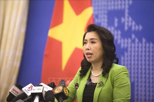 越南外交部发言人黎氏秋姮:越南强烈谴责在菲律宾发生的恐怖爆炸事件 hinh anh 1