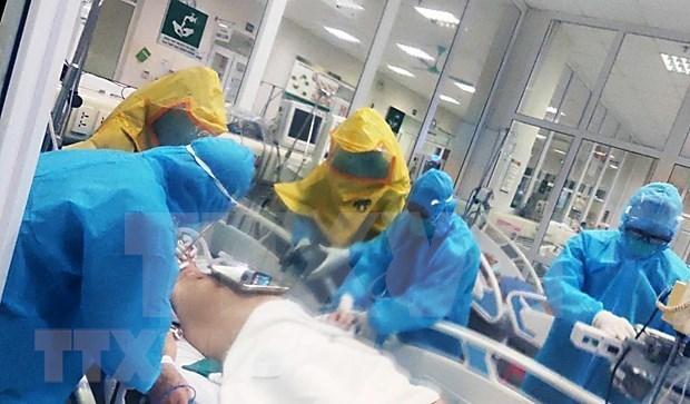 新冠肺炎疫情:全国重症和危重病例30例 hinh anh 1