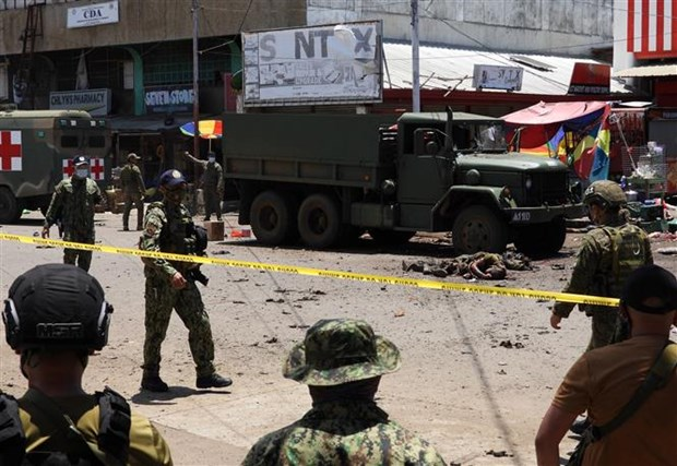 越南外交部发言人黎氏秋姮:越南强烈谴责在菲律宾发生的恐怖爆炸事件 hinh anh 2