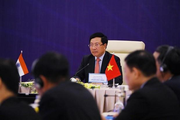 越印联合委员会第17次会议:力争在最早的时间内实现两国双边贸易额达150亿美元的目标 hinh anh 2