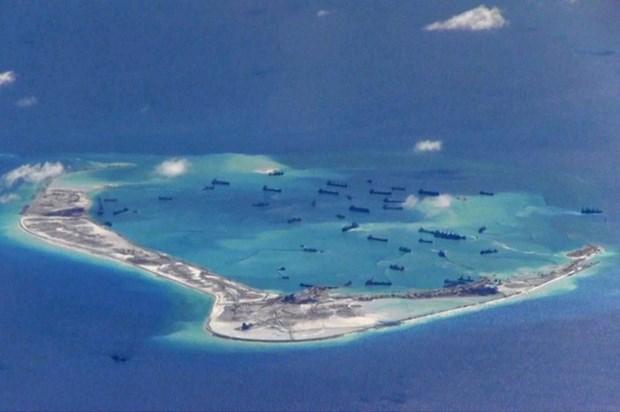 美国制裁东海建岛的中国企业和个人 hinh anh 1