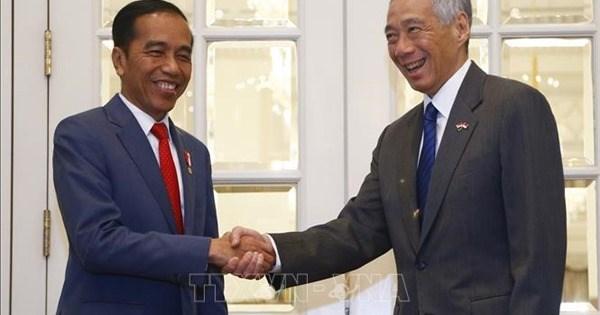 """新加坡与印尼商讨建立便利必要人员往来的""""快捷通道"""" hinh anh 1"""