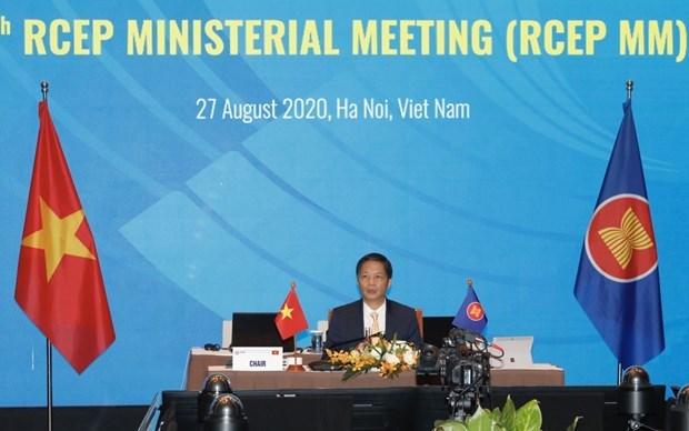 致力于《区域全面经济伙伴关系协定》在2020年底签署 hinh anh 1