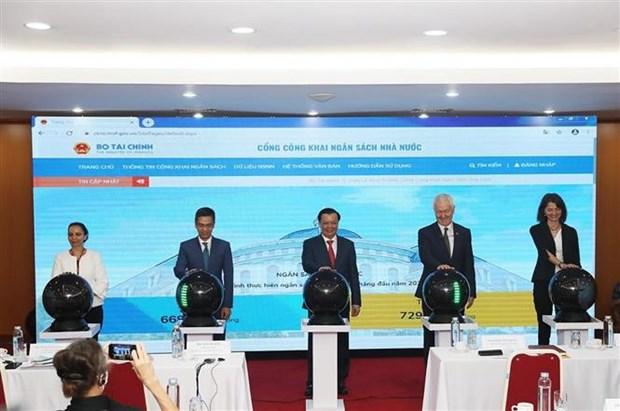 越南国家财政预算信息公开平台正式上线 hinh anh 1