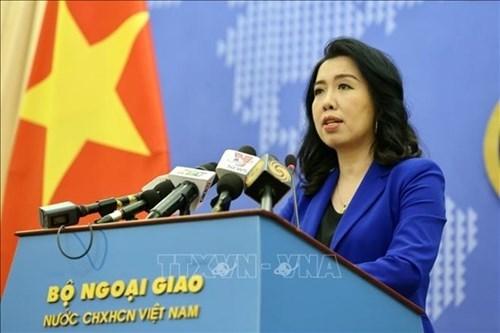 越南外交部发言人黎氏秋姮:在越南长沙群岛开展而未经越南准许的任何活动都是毫无价值的 hinh anh 1