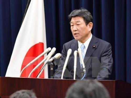日本呼吁有关各方在尊重国际法基础上采取和平方式解决东海问题 hinh anh 1