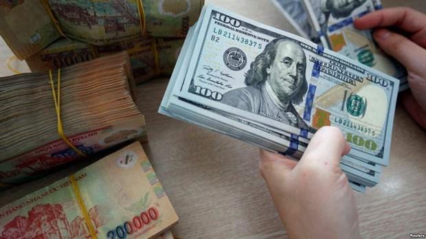 28日越盾对美元汇率中间价下调5越盾 hinh anh 1