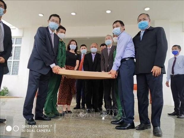 柬埔寨将把越柬边界地形图册送到联合国 hinh anh 2