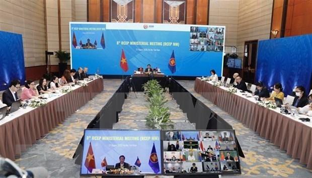 《区域全面经济伙伴关系协定》谈判进程取得突破性进展 hinh anh 1