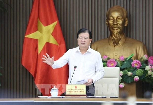 政府副总理郑廷勇担任越南湄公河委员会主席 hinh anh 1