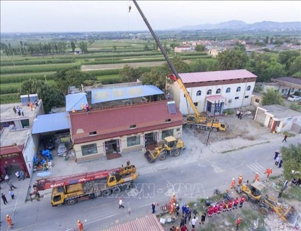 越南就中国山西省发生重大坍塌事故向中国致慰问电 hinh anh 1