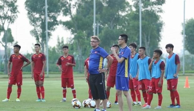 越南U19球队为2020亚足联U19足球锦标赛做好准备 hinh anh 1