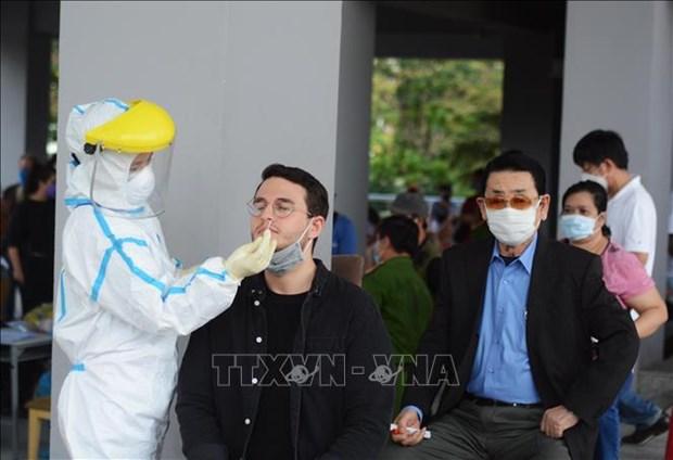 入境越南从事短期工作的外国人不需接受集中隔离医学观察 hinh anh 2