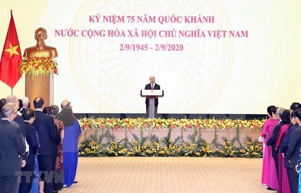 国际团结是越南75年来最重要的经验之一 hinh anh 1