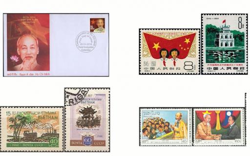 各国邮票中的越南形象 hinh anh 1