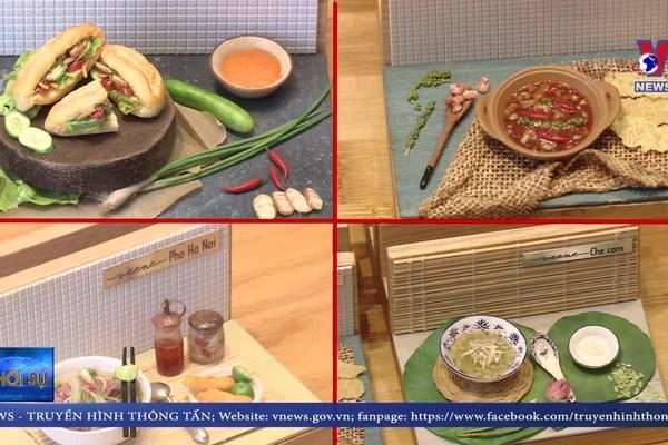 迷你模型为推广越南美食文化做出贡献 hinh anh 1