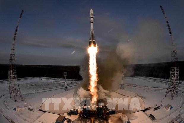 泰国首颗军事卫星成功发射上空 hinh anh 1
