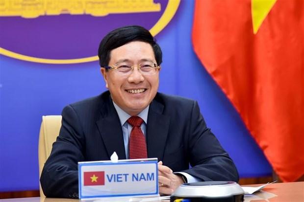 范平明与泰国副总理兼外交部长敦·普拉穆德维奈举行线上会谈 hinh anh 2