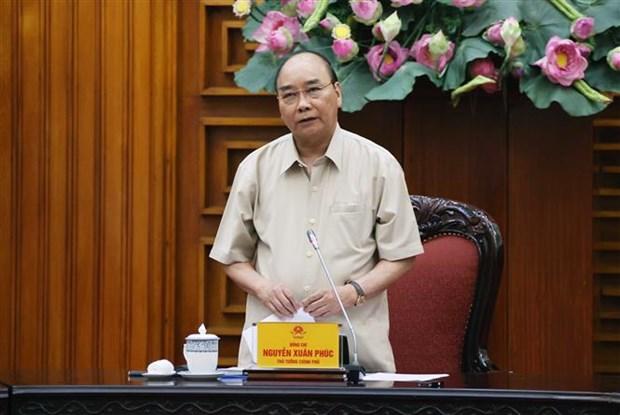 政府总理指导采取强有力措施主动应对自然灾害 hinh anh 1