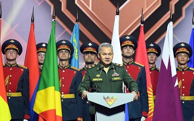 2020年国际军事比赛闭幕:越南代表团夺得优秀成绩 hinh anh 2