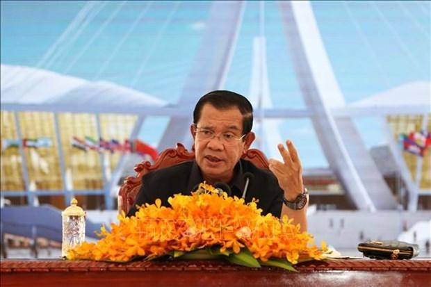 柬埔寨首相:全球化是全球增长的重要因素 hinh anh 1