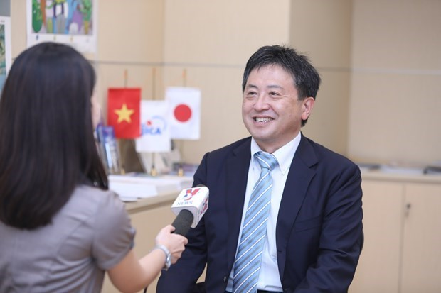 JICA首席代表:JICA对能为越南贡献一份力量而感到骄傲 hinh anh 1