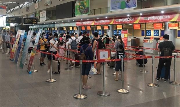 岘港成功控制疫情 越捷从9月8日起重新开放往返岘港的客运航班 hinh anh 1