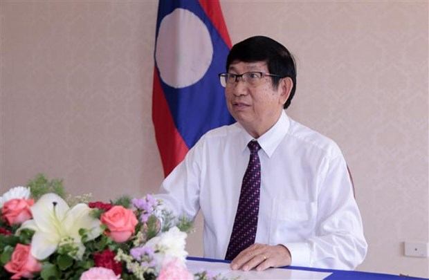 AIPA 41:老挝专家高度评价越南举行视频会议的倡议 hinh anh 1