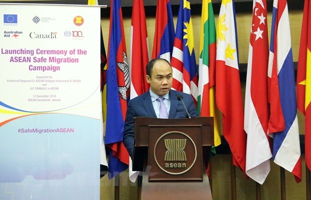 AIPA 41:东盟副秘书长康富高度评价AIPA在促进东盟一体化进程中的作用 hinh anh 1