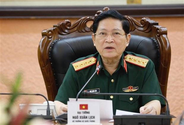 提高越南与柬埔寨防务合作机制的质效 hinh anh 1