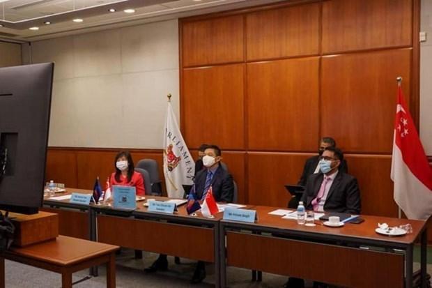 新加坡强调AIPA在应对新冠肺炎疫情的作用 hinh anh 1